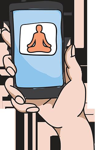 Пять мобильных приложений для медитации