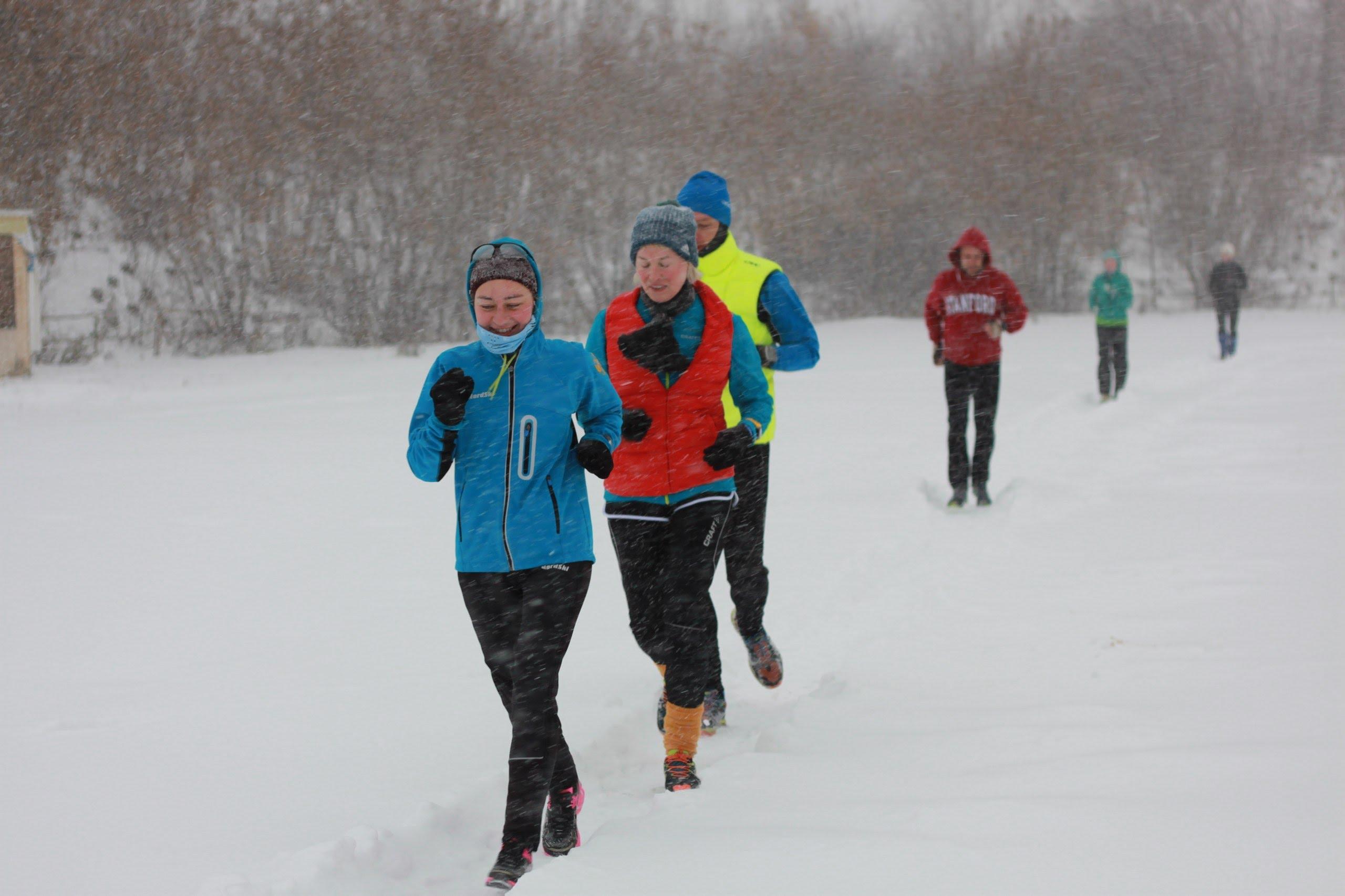 Зимняя экипировка для бега