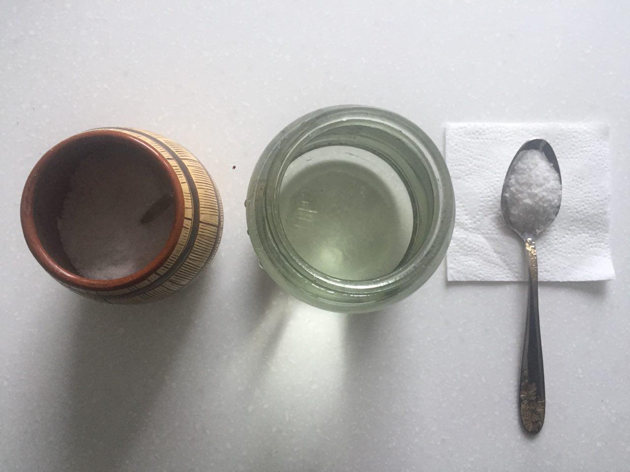 Соль вода