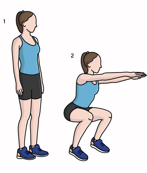 упражнения для женщин за 40