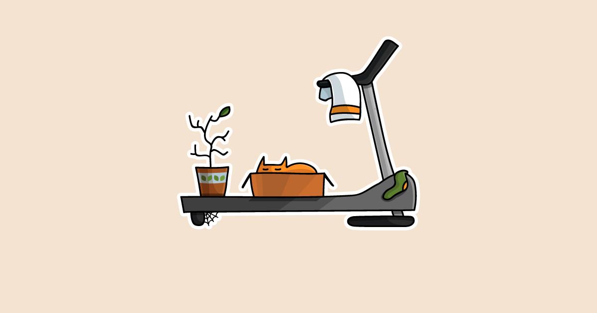 Сколько калорий сжигается на беговой дорожке?